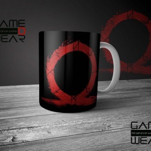 god of war mugس